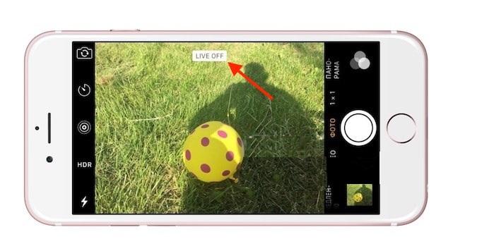 как установить лайв фото на айфон подскажите
