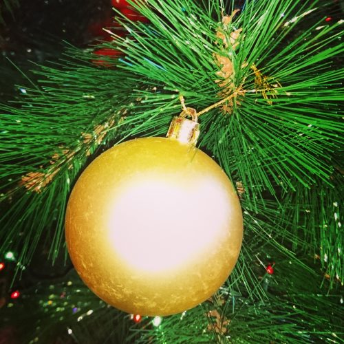 bola de navidad instagram