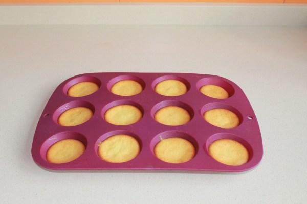bizcochitos recién salidos del horno