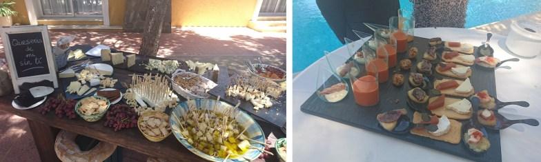 quesos y aperitivos