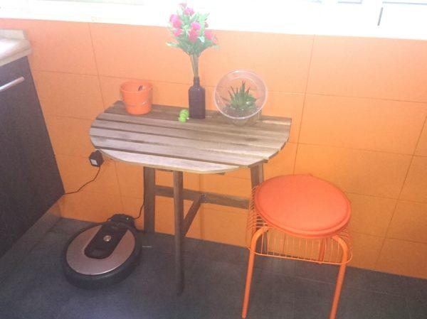 rincón con muebles de ikea