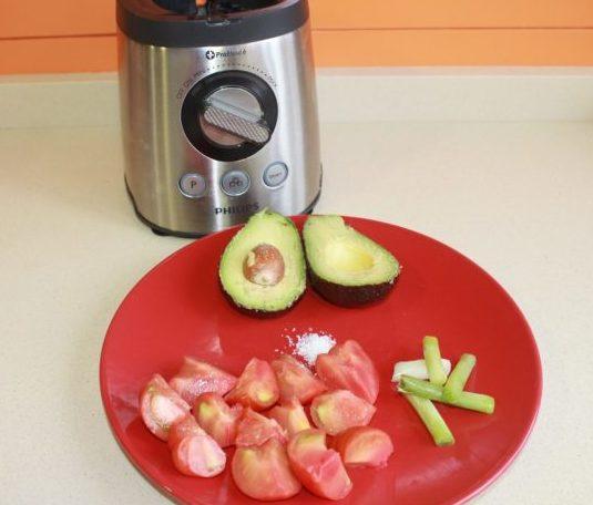 preparacion guacamole
