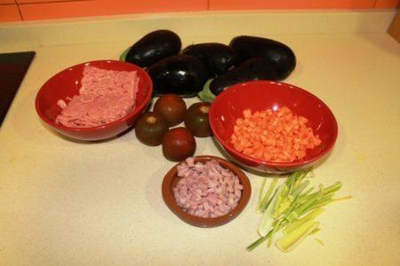 ingredientes berenjenas