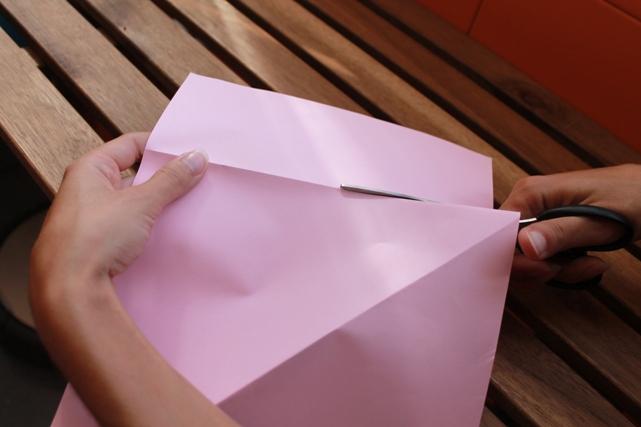 Cortar papel A4