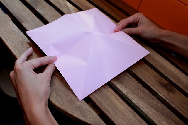 papel pliegues