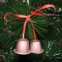 DIY - Campanitas para el árbol de Navidad con Cápsulas Nespresso