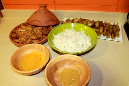 comida étnica