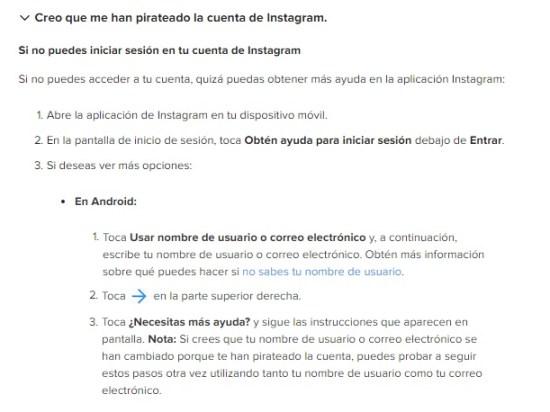 cuenta instagram pirateada