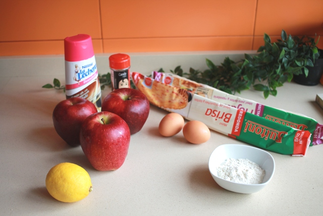 ingredientes tarta manzana