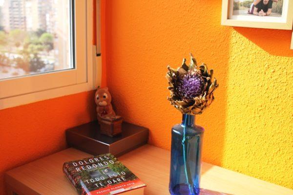flor alcachofa