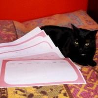 Planificador Mensual (Monthly Planner) de Yodecoromihogar