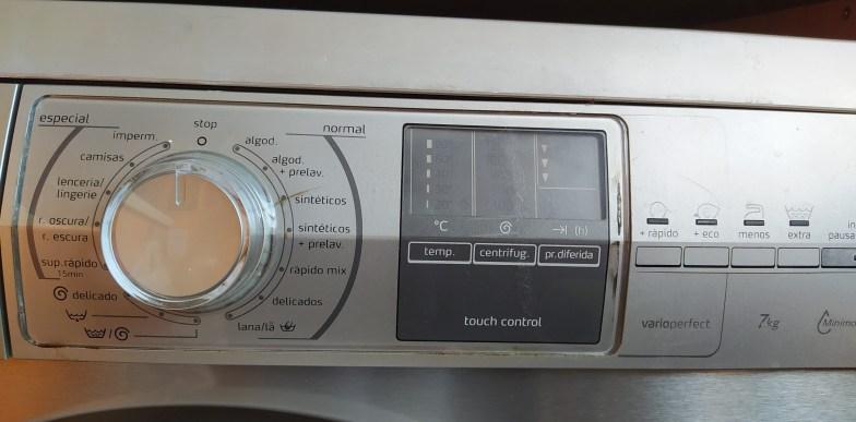 mandos lavadora