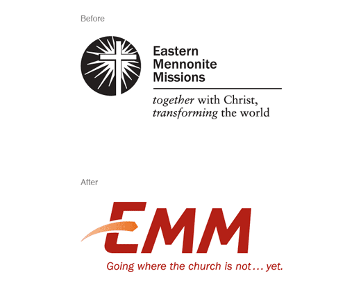 EMM before and after