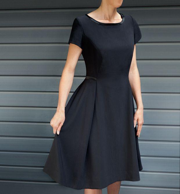 patron gratis vestido elegante