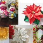 Adornos fáciles de Navidad