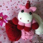 patrón amigurimi unicornio