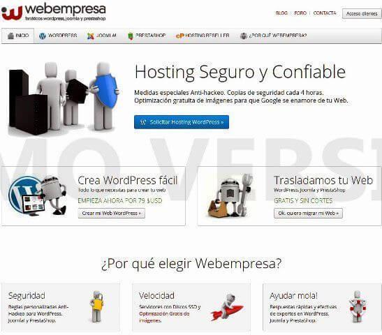 Yo Extranjero en Webempresa