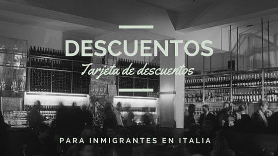Italia Tarjeta de Descuentos