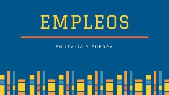 Empleos en Italia y Europa