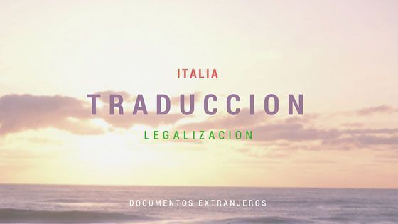 Traducción Documentos Extrajeros