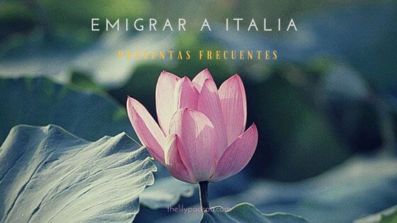 Informaciones para emigrar a Italia