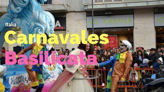 Italia – Carnavales en Basilicata