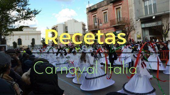 Italia – Recetas Típicas de Carnaval