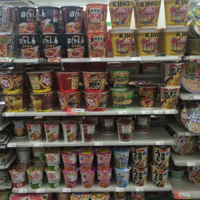 Fideos y sopas desde 100 yenes