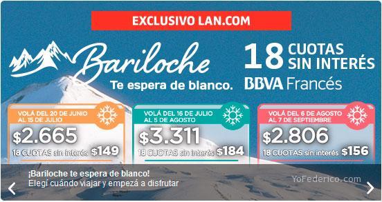 20150615 - Lan a Bariloche 18 cuotas