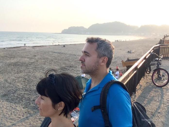Playa de Kamakura, Japón