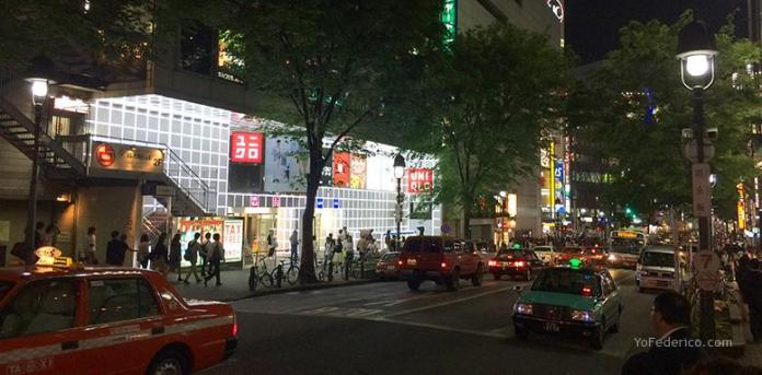 Shibuya de noche