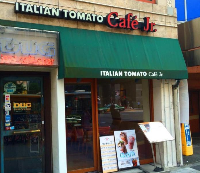 Italian Tomato Cafe JR, Shinjuku, Tokyo