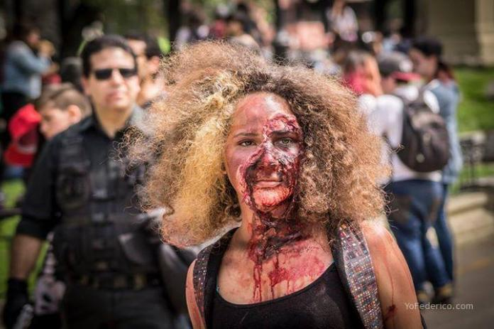 Zombiewalk, Santiago, Chile