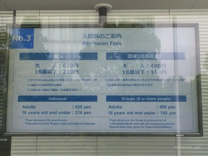 Miraikan, Museo de Ciencia e Innovación en Tokyo, Japón