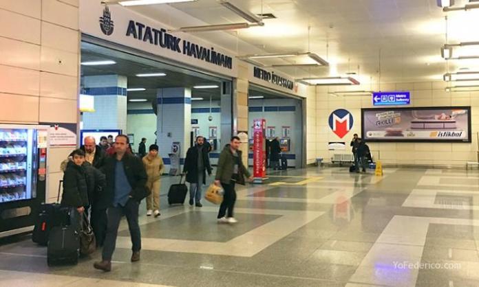 Cómo ir en Metro del aeropuerto de Estambul a la ciudad 4