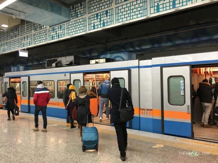 Cómo ir en Metro del aeropuerto de Estambul a la ciudad 7