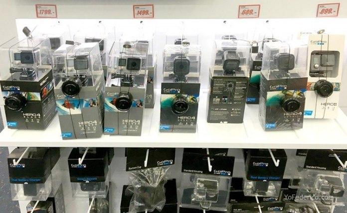 Precios de las GoPro en Estambul 1