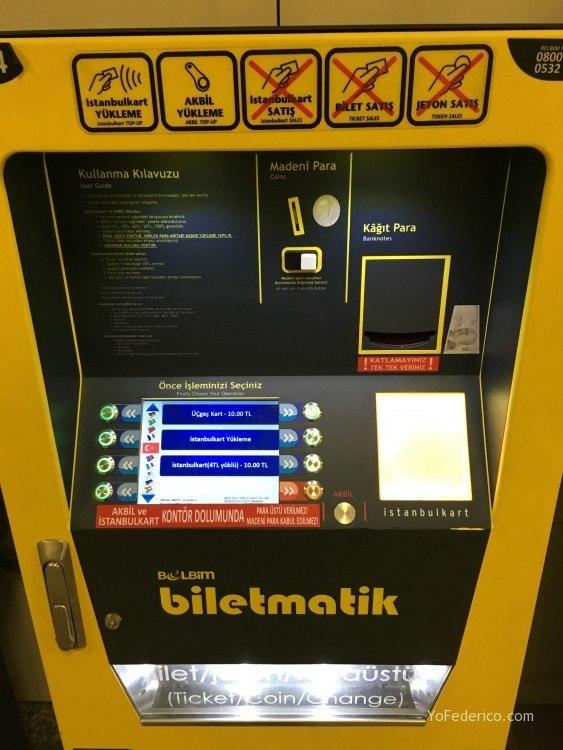 Cómo adquirir y recargar la Istanbul Kart para movernos en Estambul 2