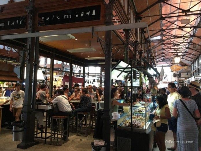 Almuerzo en el Mercado de San Miguel en Madrid 5
