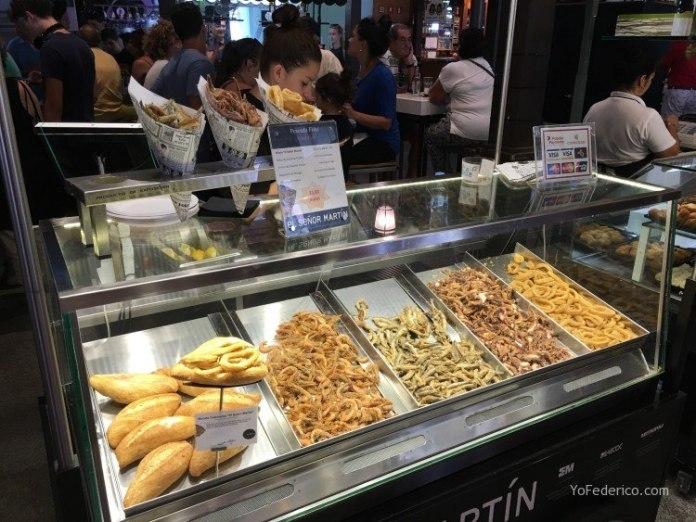 Almuerzo en el Mercado de San Miguel en Madrid 9