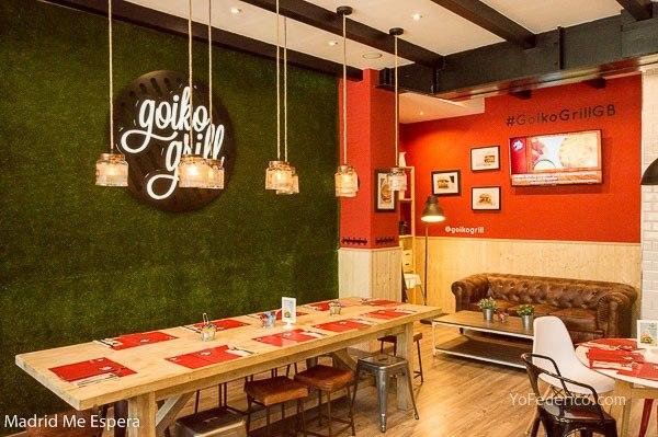 Goiko Grill, hamburguesas deliciosas en Madrid 5