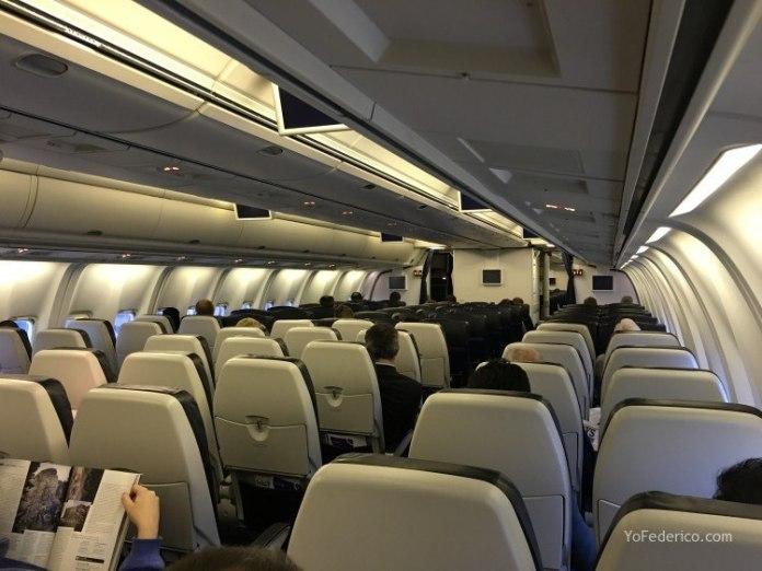 Vuelo de Estambul a Londres en British Airways 3