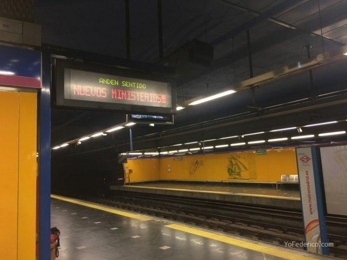 Cómo ir en Metro desde el Aeropuerto de Barajas a Madrid 4