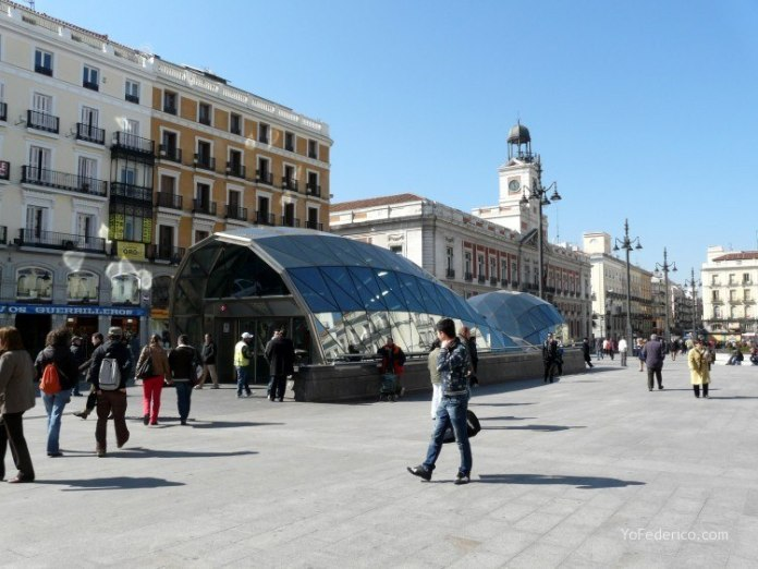 Cómo ir en Metro desde el Aeropuerto de Barajas a Madrid 9