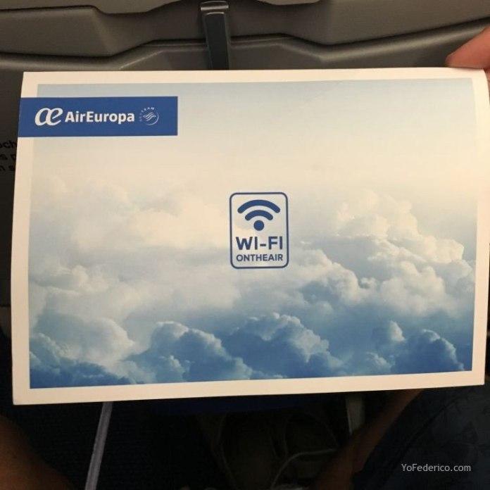 Vuelo de Madrid a Buenos Aires en AirEuropa 5