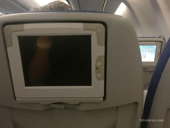 Vuelo de Madrid a Buenos Aires en AirEuropa 10