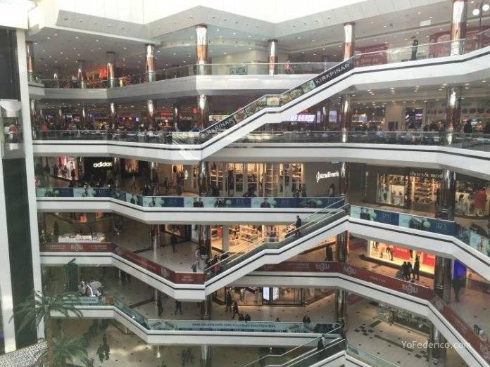 Istanbul Cevahir, un shopping enorme en Estambul 21