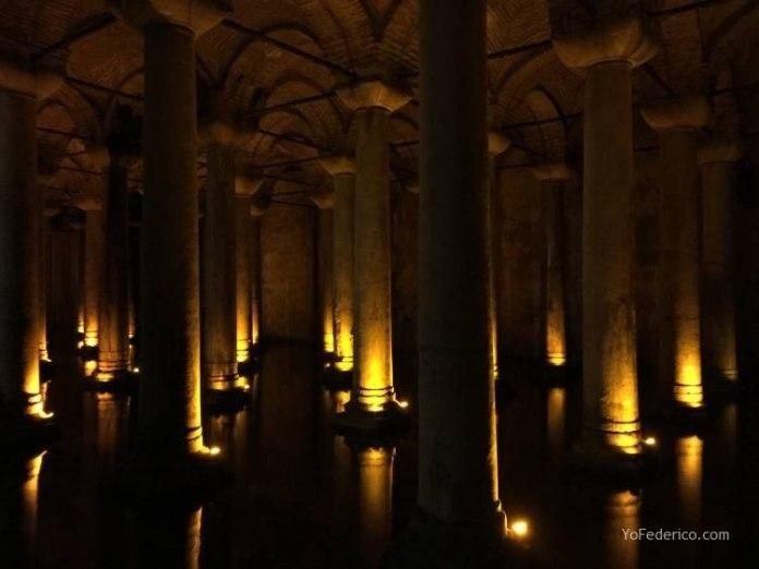 La Cisterna Basílica de Estambul 2