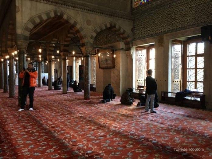 La Mezquita Azul de Estambul 10