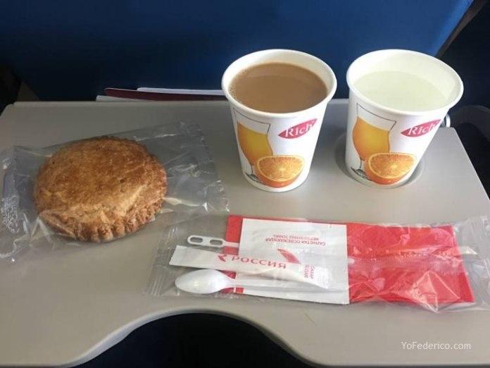 Vuelo de Praga a San Petersburgo en AeroFlot 11